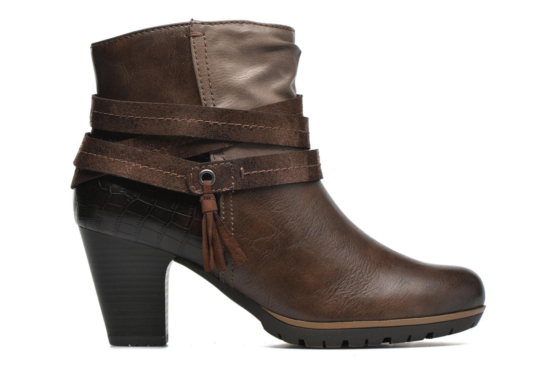 Stiefeletten & Boots Jana shoes Silene braun ansicht von hinten