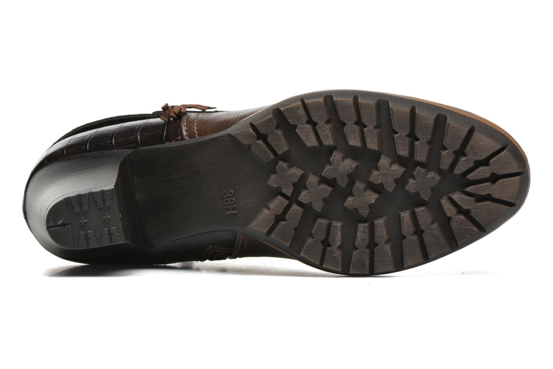 Bottines et boots Jana shoes Silene Marron vue haut