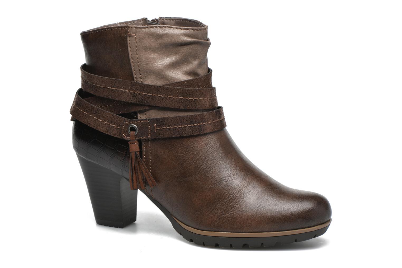 Bottines et boots Jana shoes Silene Marron vue détail/paire