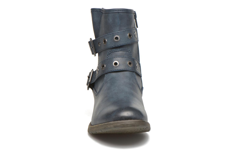 Bottines et boots Jana shoes Monarde Bleu vue portées chaussures