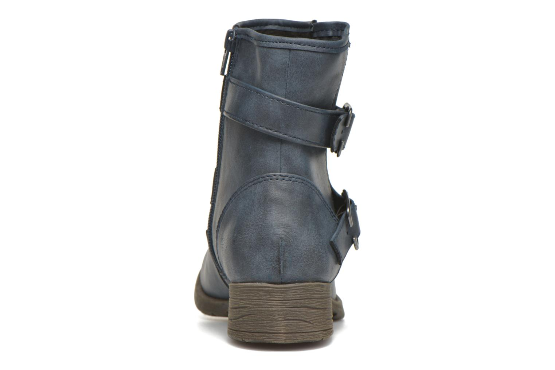 Bottines et boots Jana shoes Monarde Bleu vue droite