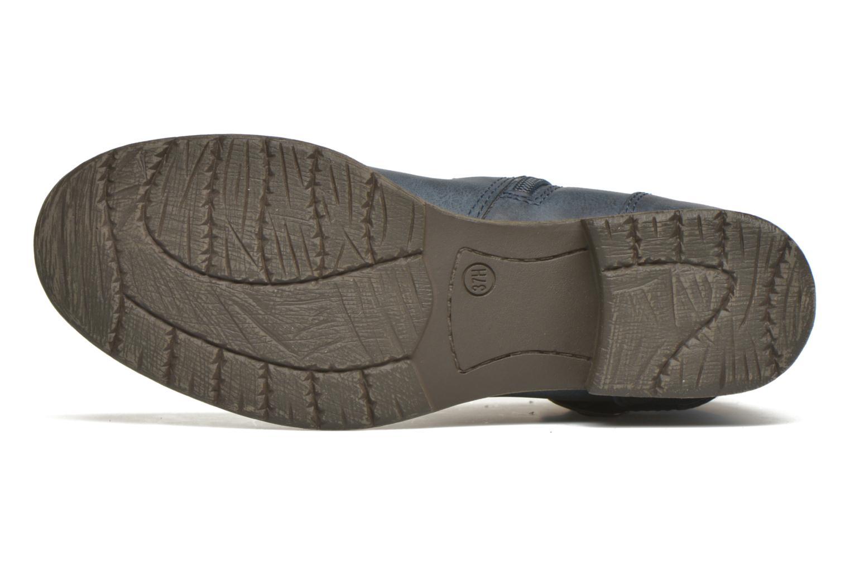 Bottines et boots Jana shoes Monarde Bleu vue haut