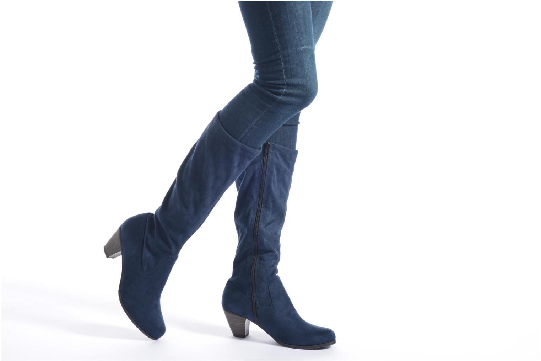 Bottes Jana shoes Lulu 2 Gris vue bas / vue portée sac