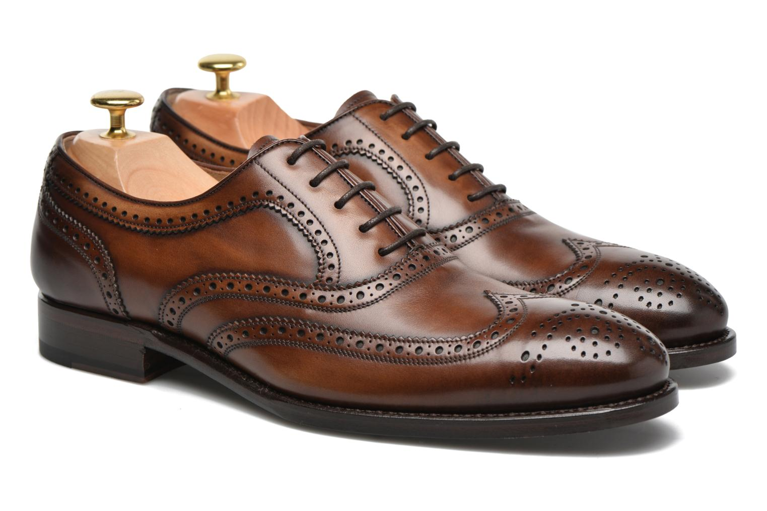 Chaussures à lacets Marvin&Co Luxe Waster - Cousu Goodyear Marron vue 3/4