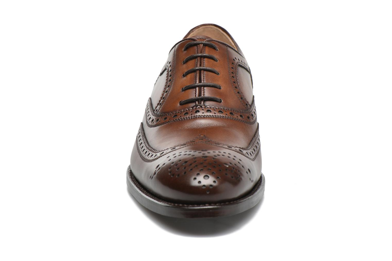 Chaussures à lacets Marvin&Co Luxe Waster - Cousu Goodyear Marron vue portées chaussures