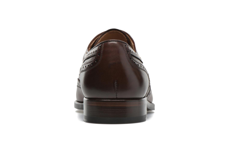 Snörade skor Marvin&Co Luxe Waster Brun Bild från höger sidan