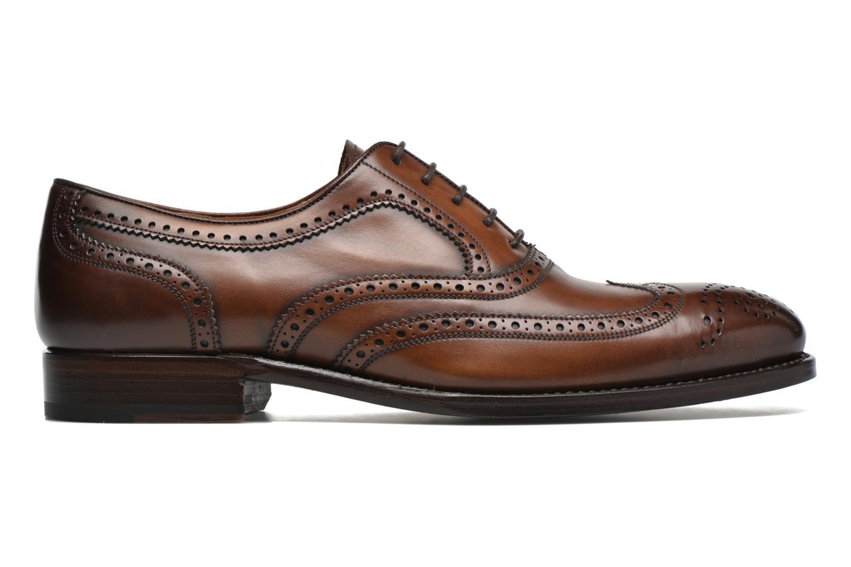Snörade skor Marvin&Co Luxe Waster Brun bild från baksidan