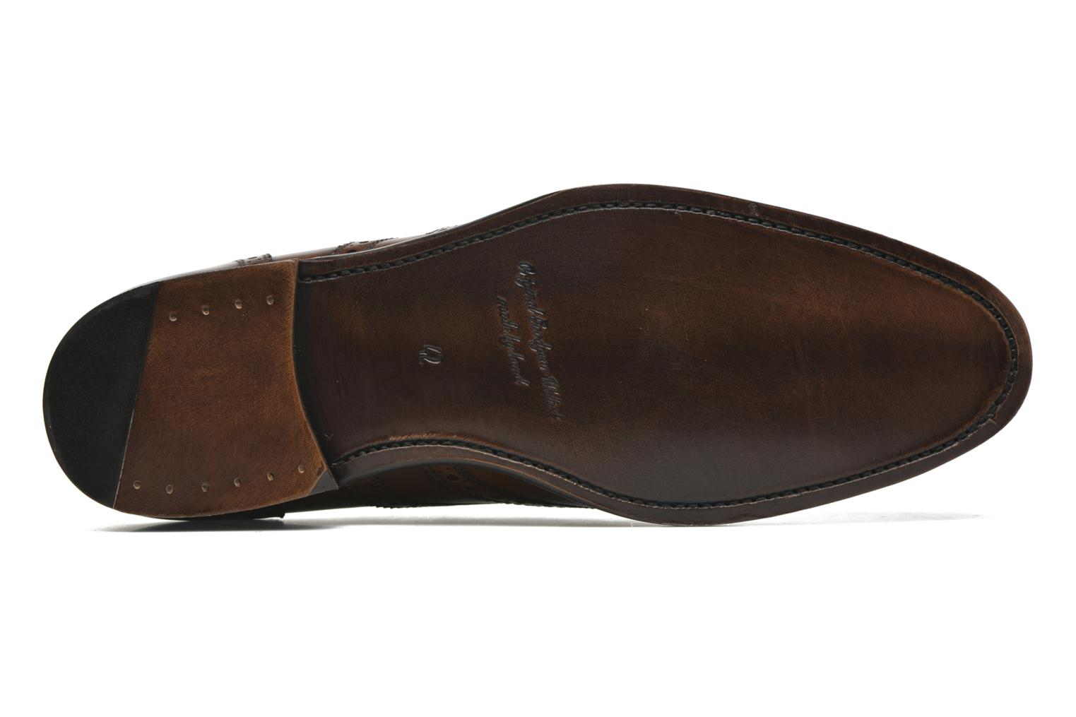 Chaussures à lacets Marvin&Co Luxe Waster - Cousu Goodyear Marron vue haut