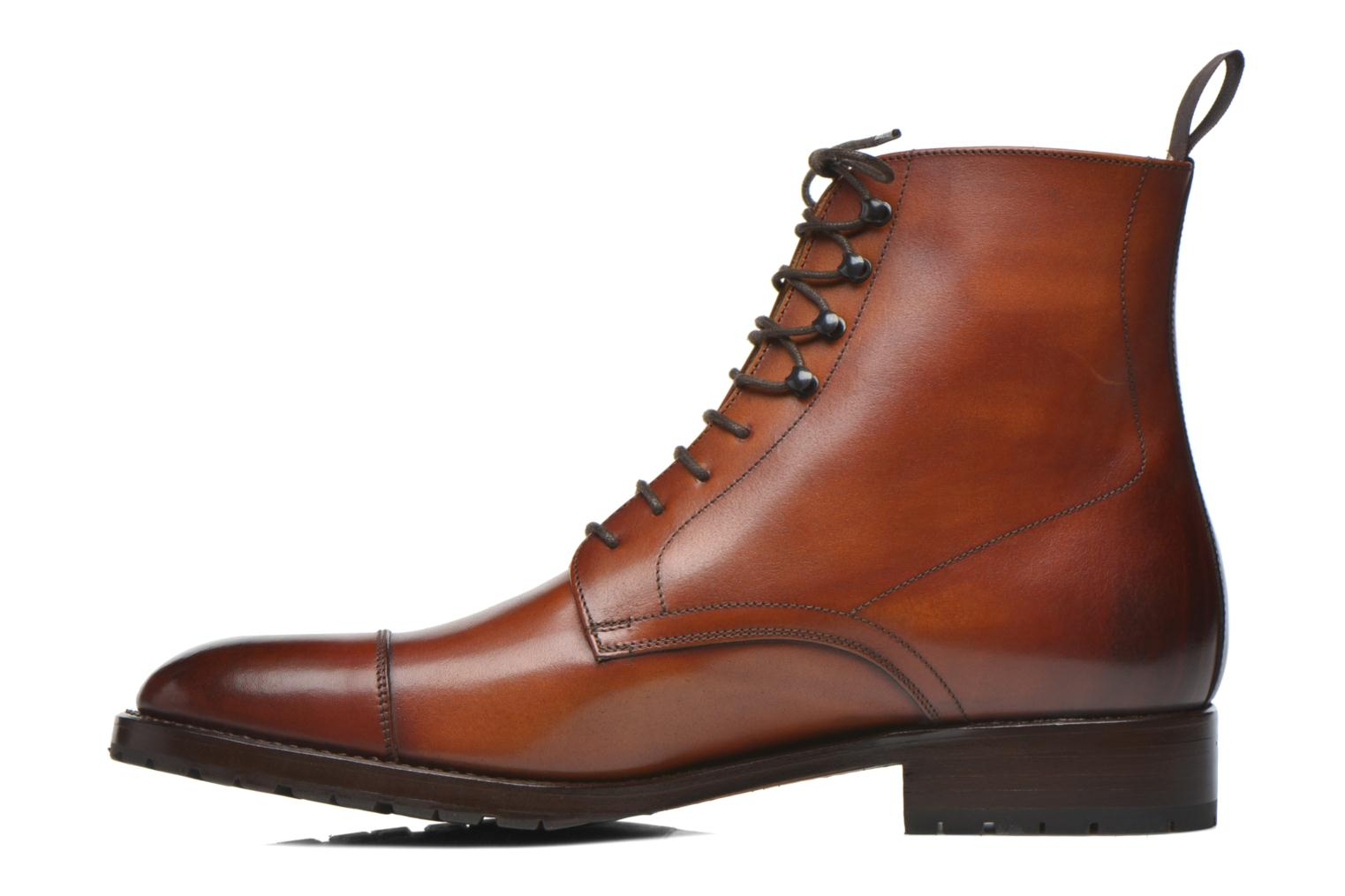Bottines et boots Marvin&Co Luxe Walfred - Cousu Blake Marron vue face