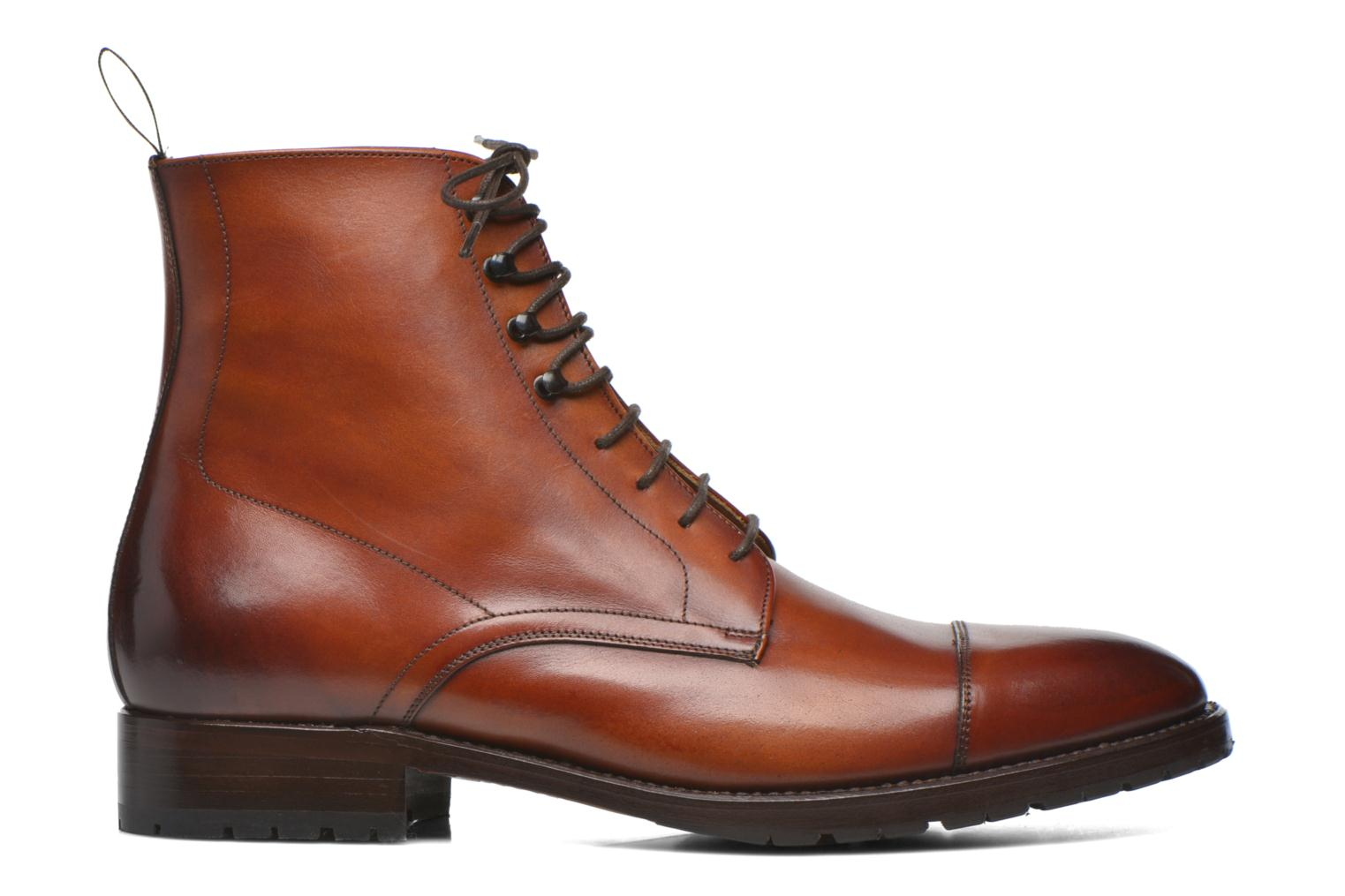 Botines  Marvin&Co Luxe Walfred Marrón vistra trasera