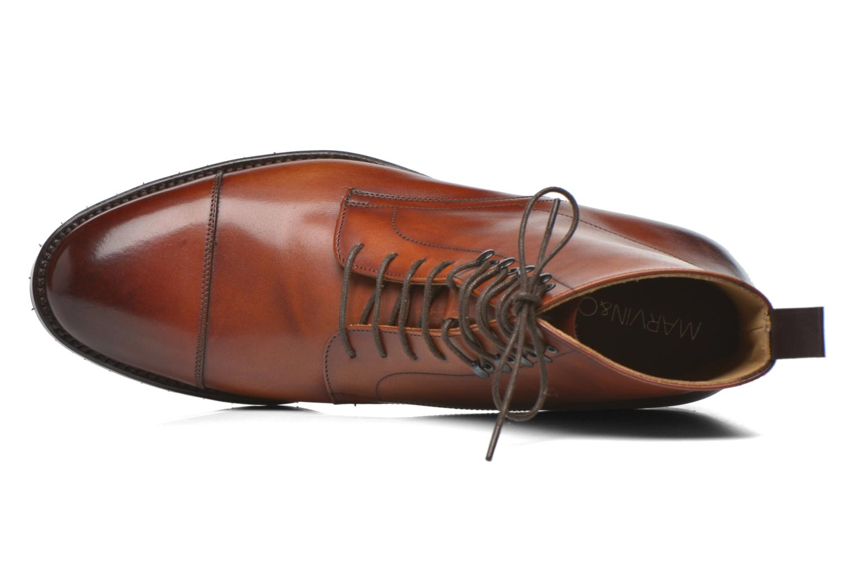 Bottines et boots Marvin&Co Luxe Walfred - Cousu Blake Marron vue gauche