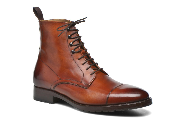 Bottines et boots Marvin&Co Luxe Walfred - Cousu Blake Marron vue détail/paire
