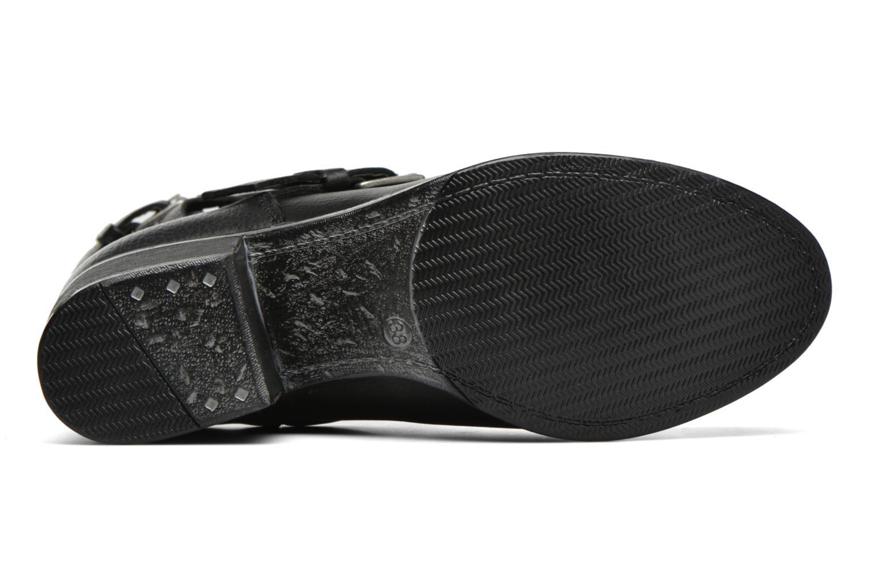 Bottines et boots Bullboxer Dipta Noir vue haut
