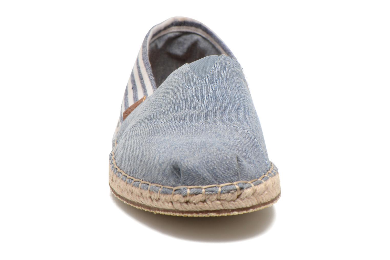 Espadrilles TOMS Seasonal Classics H Bleu vue portées chaussures