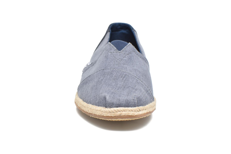 Espadrilles TOMS Seasonal Classics H Gris vue portées chaussures