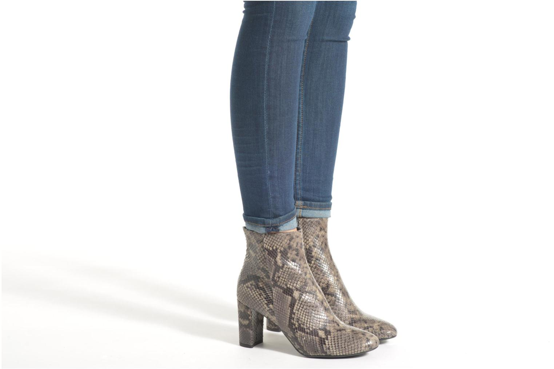 Bottines et boots Billi Bi Kalmie Gris vue bas / vue portée sac