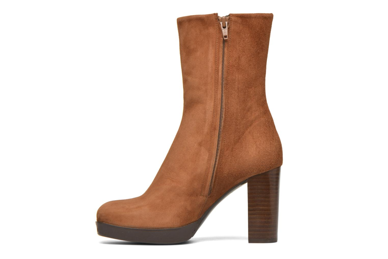 Ankle boots Billi Bi Lotier Brown front view