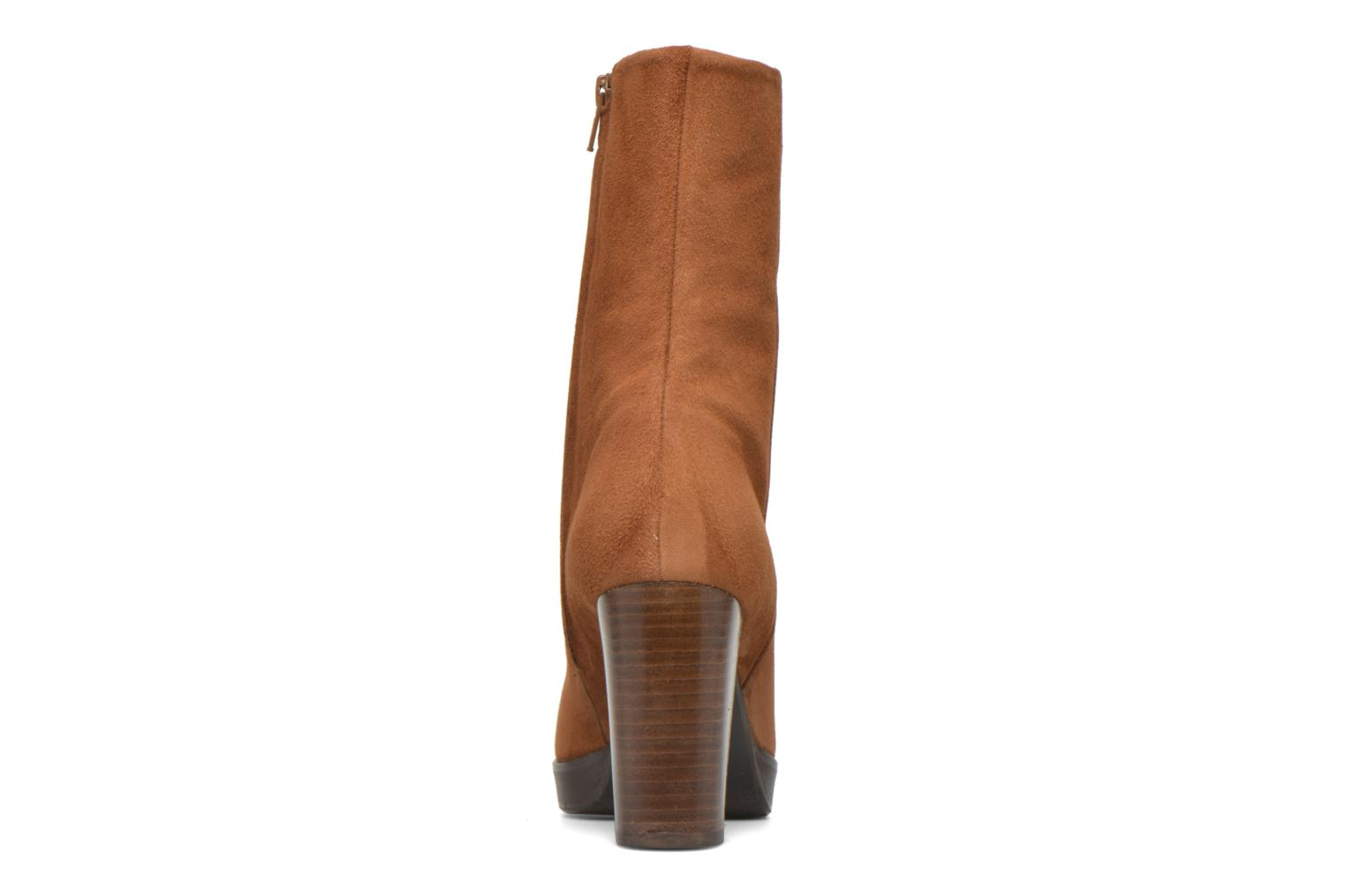 Ankle boots Billi Bi Lotier Brown view from the right