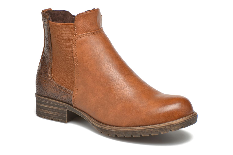 Bottines et boots Bullboxer Camilla Marron vue détail/paire