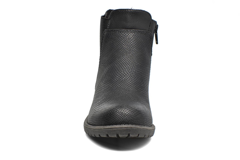 Bottines et boots Bullboxer Camilla Noir vue portées chaussures