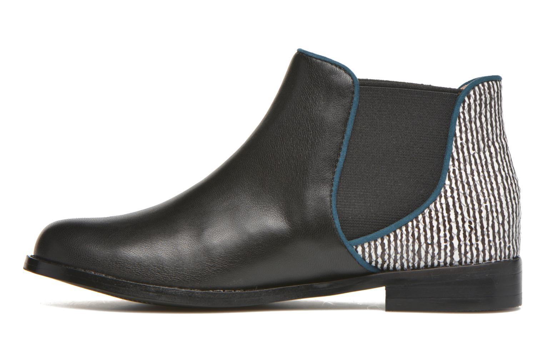Bottines et boots Mellow Yellow Mnalizo Noir vue face