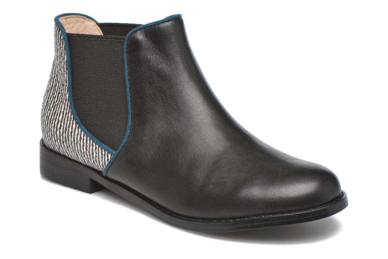 Bottines et boots Mellow Yellow Mnalizo Noir vue détail/paire
