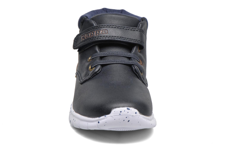 Baskets Kappa Cit Bleu vue portées chaussures