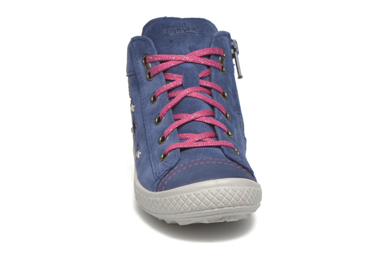 Sneaker Superfit Tensy Winter lila schuhe getragen