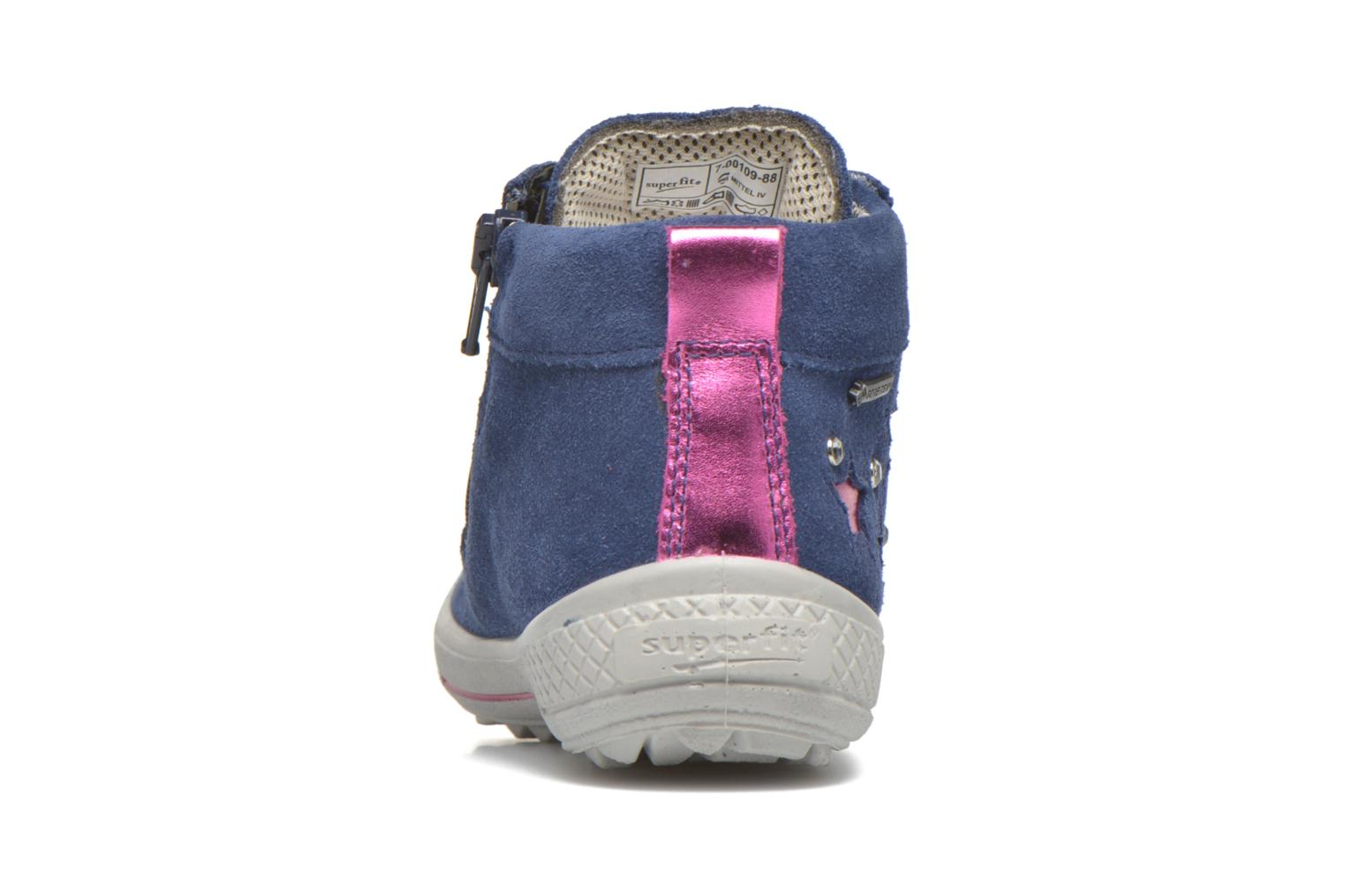Trainers Superfit Tensy Winter Purple view from the right