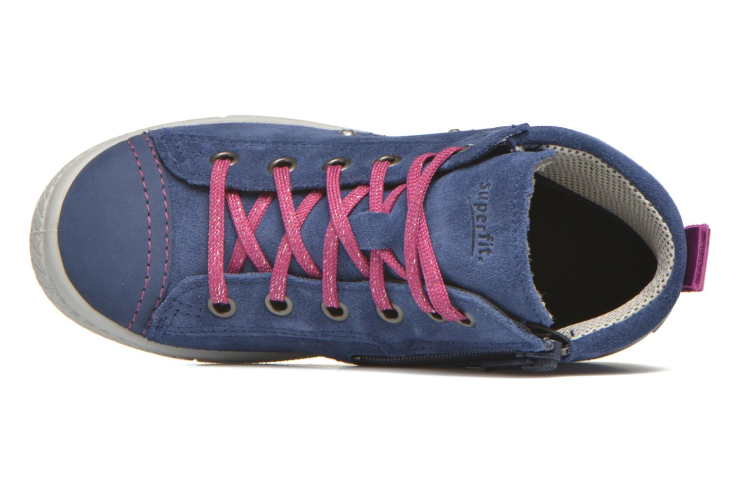 Trainers Superfit Tensy Winter Purple view from the left