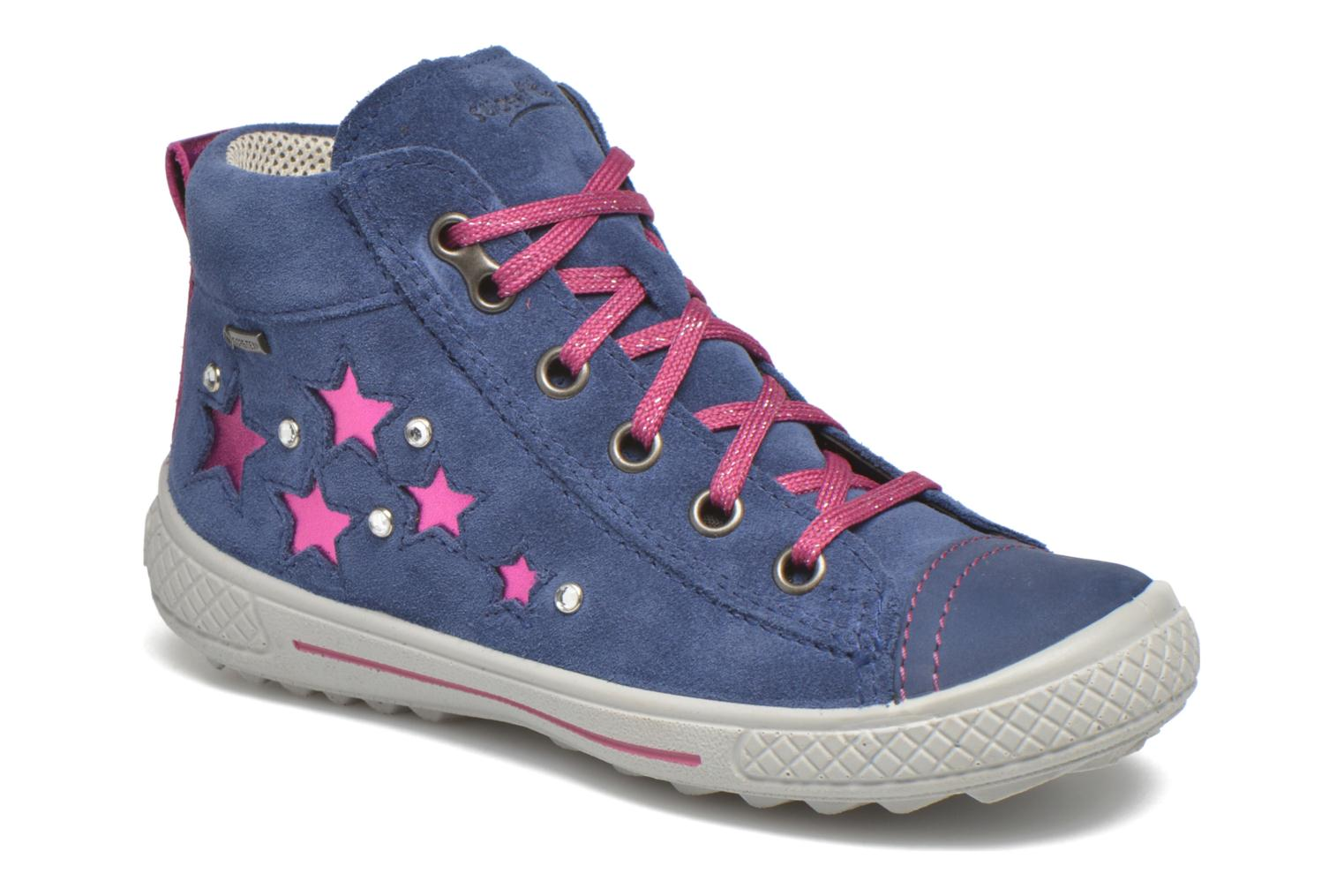 Baskets Superfit Tensy Winter Violet vue détail/paire