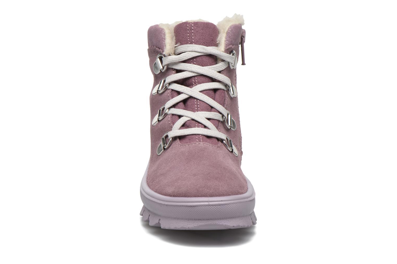 Bottines et boots Superfit Flavia Rose vue portées chaussures