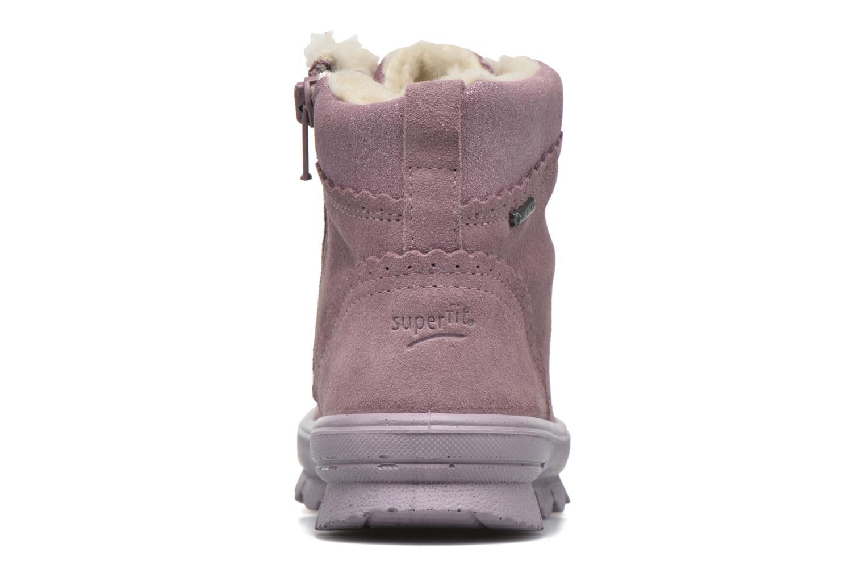 Bottines et boots Superfit Flavia Rose vue droite
