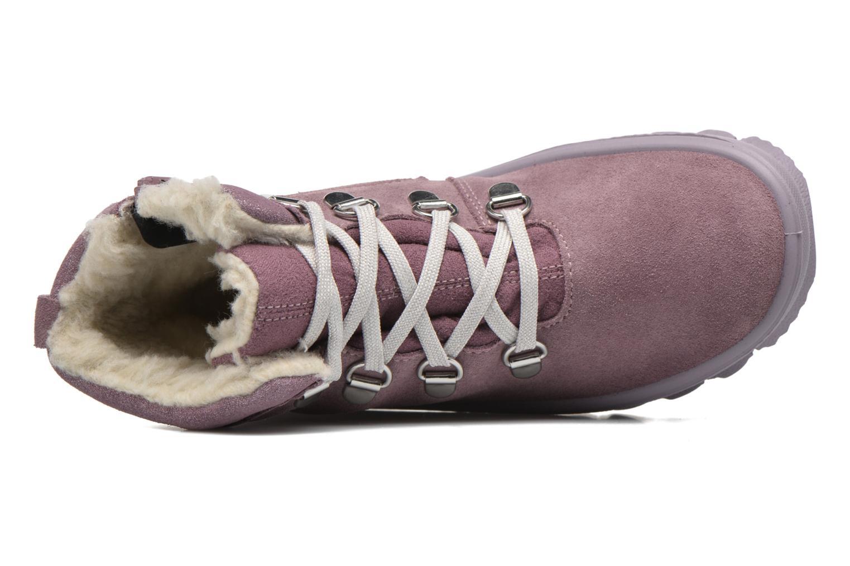 Bottines et boots Superfit Flavia Rose vue gauche