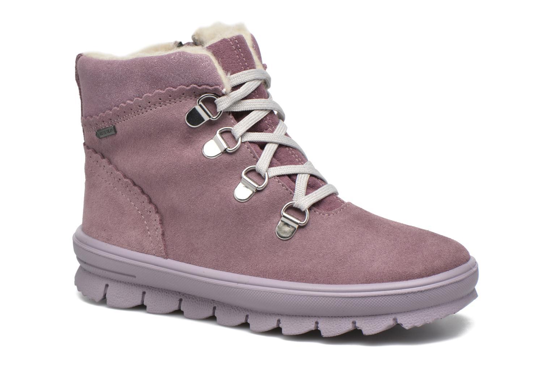 Bottines et boots Superfit Flavia Rose vue détail/paire