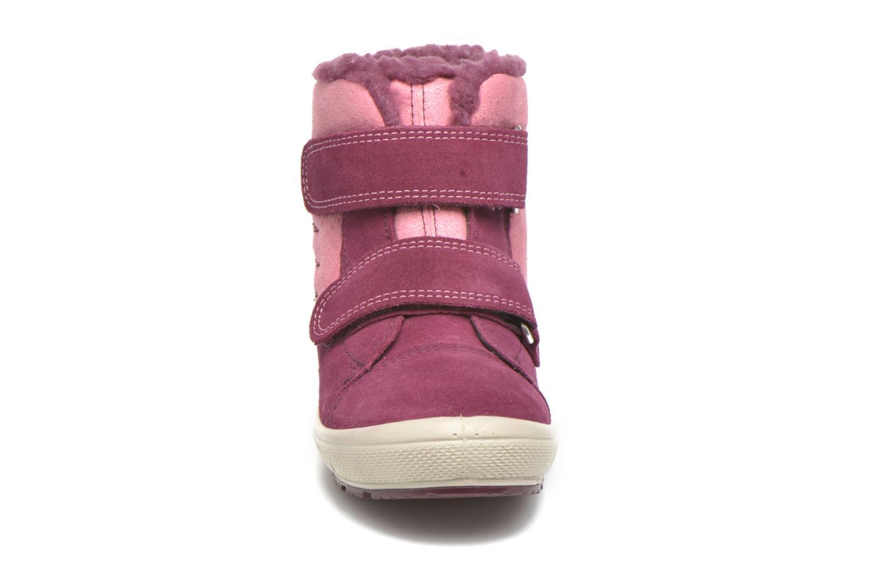 Bottines et boots Superfit Groovy Rose vue portées chaussures