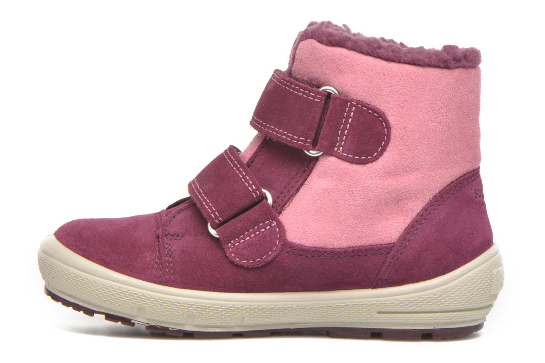 Bottines et boots Superfit Groovy Rose vue face