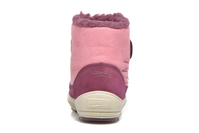 Bottines et boots Superfit Groovy Rose vue droite