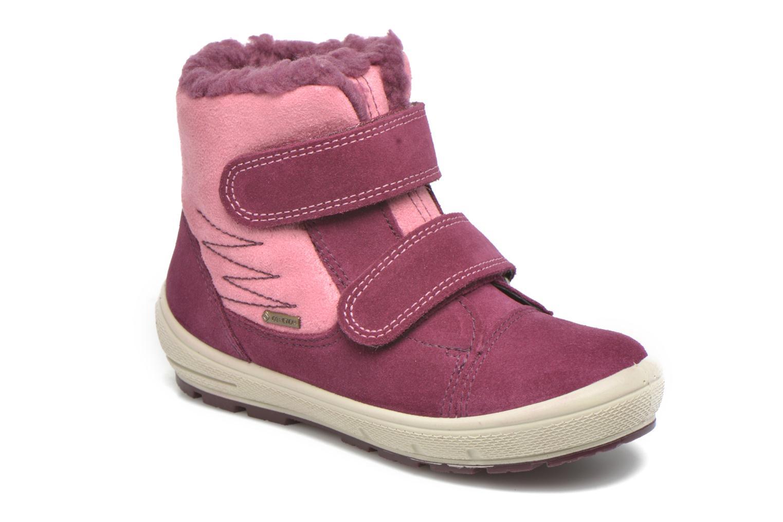 Bottines et boots Superfit Groovy Rose vue détail/paire
