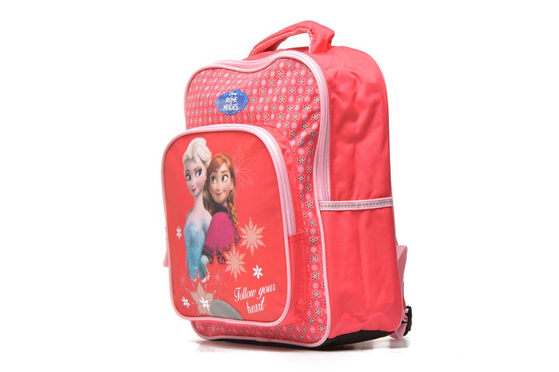 Schulzubehör Disney FROZEN CORAL - BACKPACK 35 CM rosa schuhe getragen
