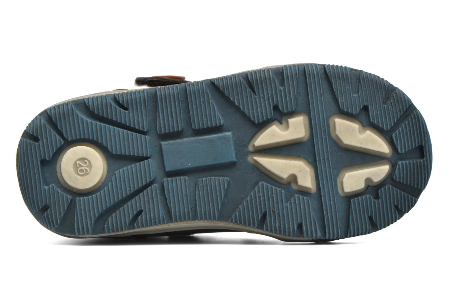 Velcro shoes NA! Abes Blue view from above