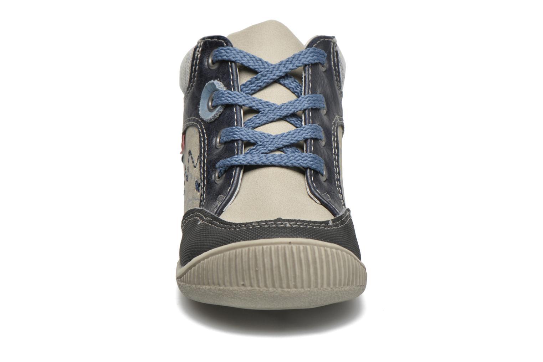 Bottines et boots NA! Abricot Bleu vue portées chaussures