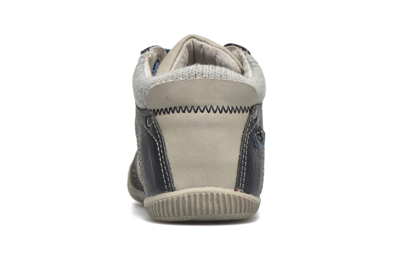 Bottines et boots NA! Abricot Bleu vue droite