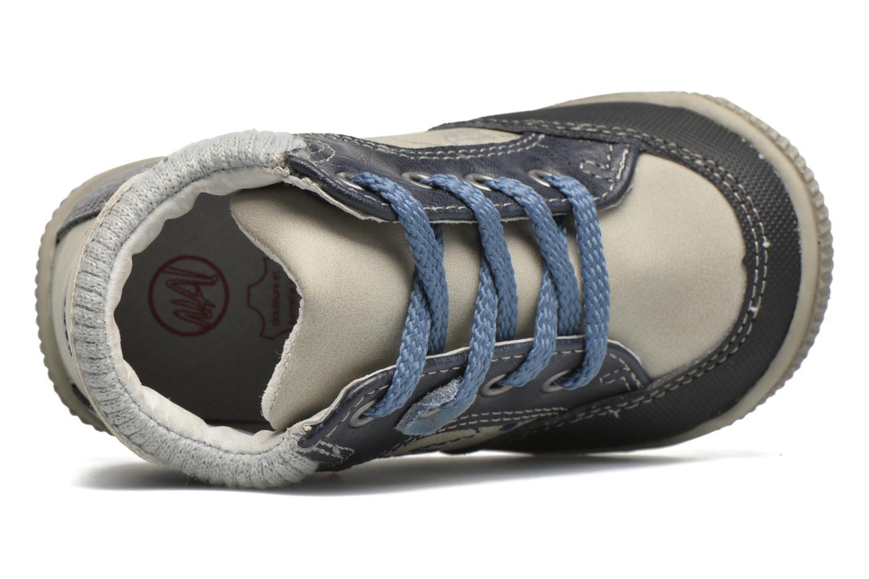 Bottines et boots NA! Abricot Bleu vue gauche