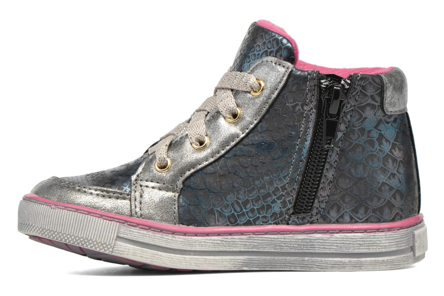 Sneakers NA! Rimel Argento immagine frontale