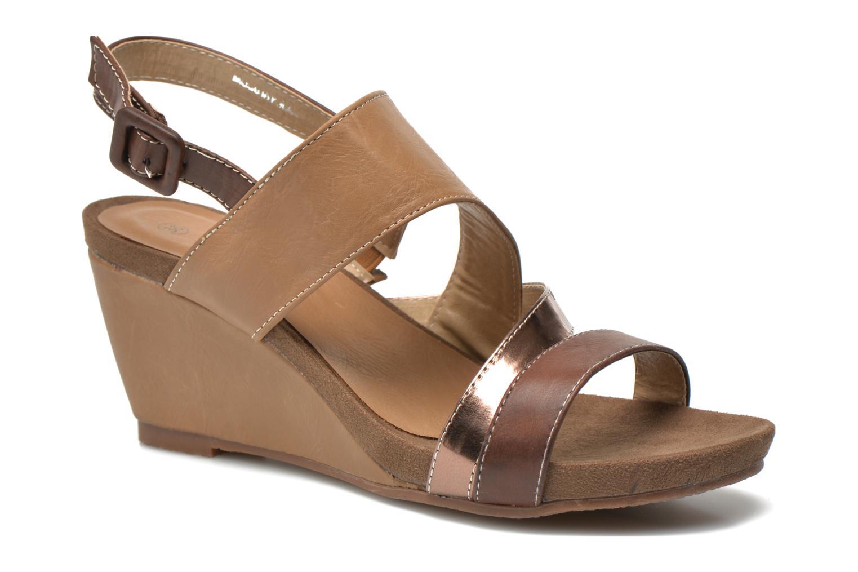 initiale paris scander marron sandales et nu pieds chez sarenza 261522. Black Bedroom Furniture Sets. Home Design Ideas
