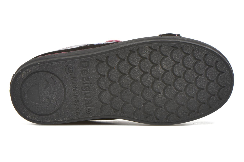 Sneaker Desigual Silver Mini schwarz ansicht von oben