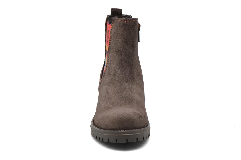 Stiefeletten & Boots Desigual Chelsea braun schuhe getragen