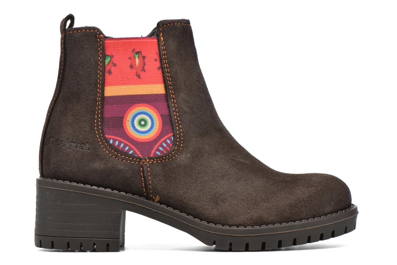Stiefeletten & Boots Desigual Chelsea braun ansicht von hinten