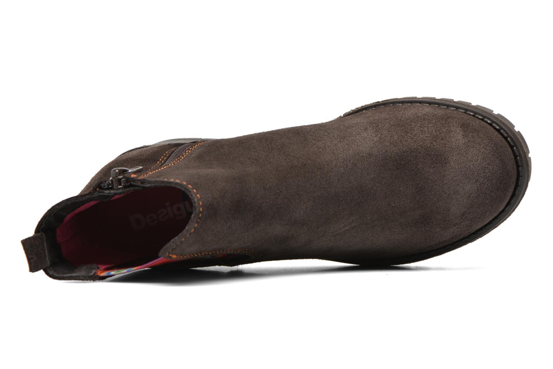 Bottines et boots Desigual Chelsea Marron vue gauche
